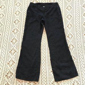 VS London Jeans 100% Linen Black Pants 10